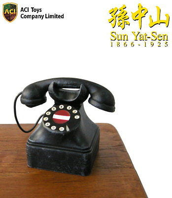 A299 ACI 1/6 Sun Yat Sen Accessories Telephone Brand New In Hand From USA.