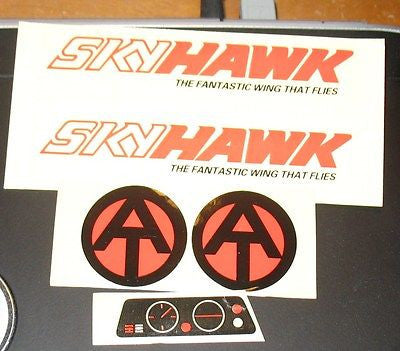 E009 GI Joe Adventure Team AT Skyhawk Decal set Nice!