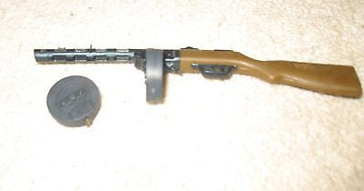W092 GI JOE Hasbro Contemporary Russian Machine Gun set New!