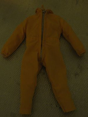 C048 GI JOE Hasbro Reissued Yellow Air Force Jump Suit New.