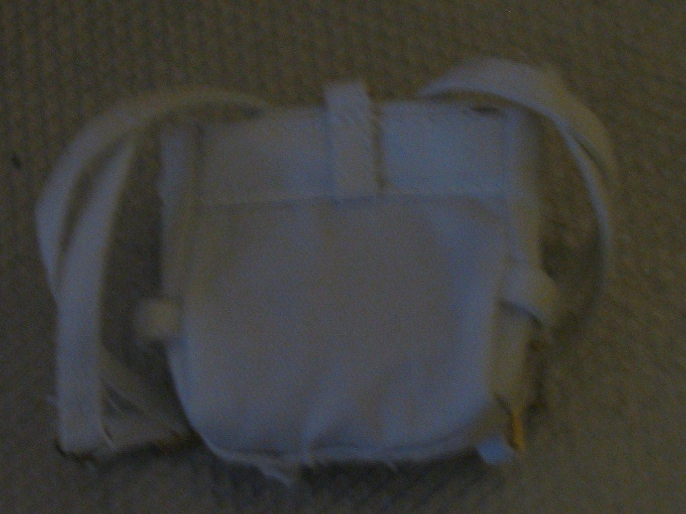 A017 GI JOE Hasbro Reissued White Snow Troops Back Pack Brand New.