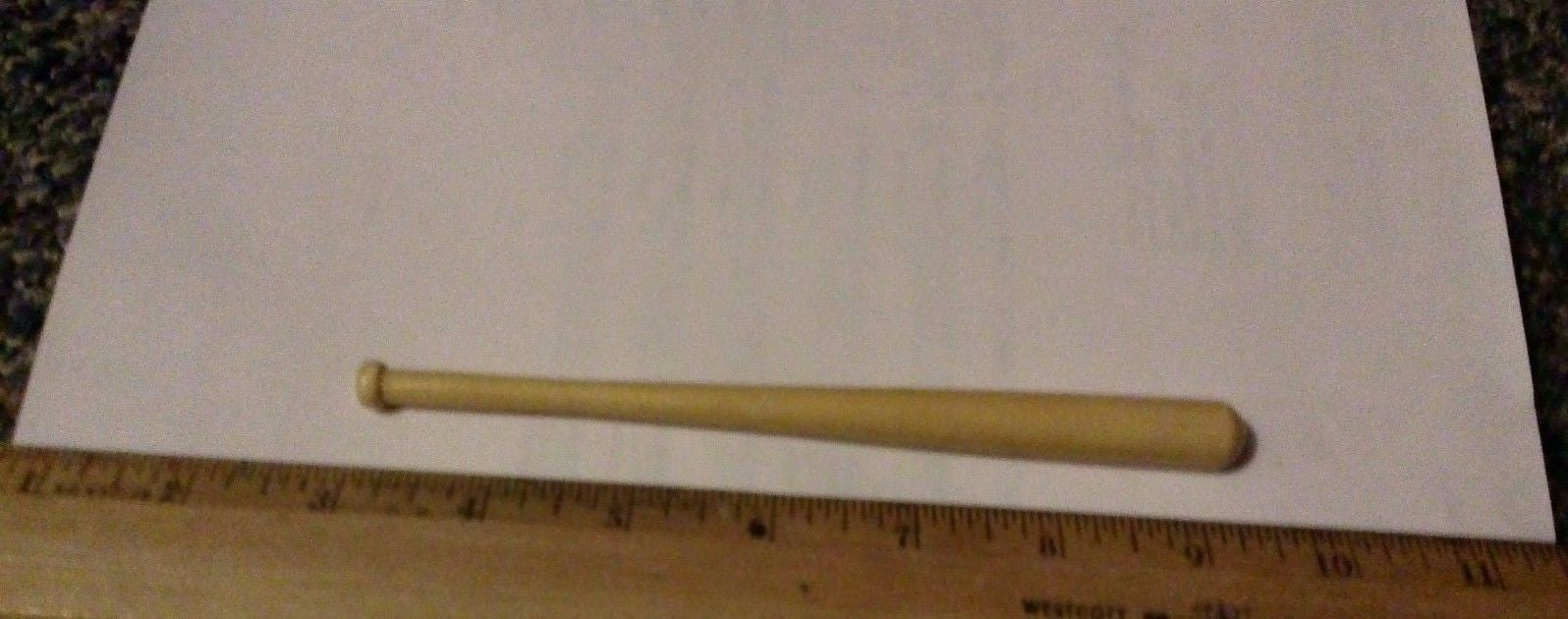 A143 3rd SON Books 1/6 Scale wooden finished baseball bat