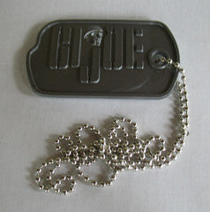 A384 3rd SON Books GI JOE Military Life Sized Dog Tag Reproduction