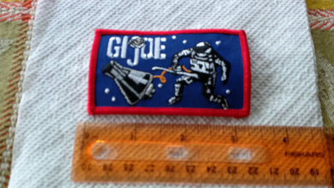 A389 Custom GI JOE Life Sized Astronaut Patch
