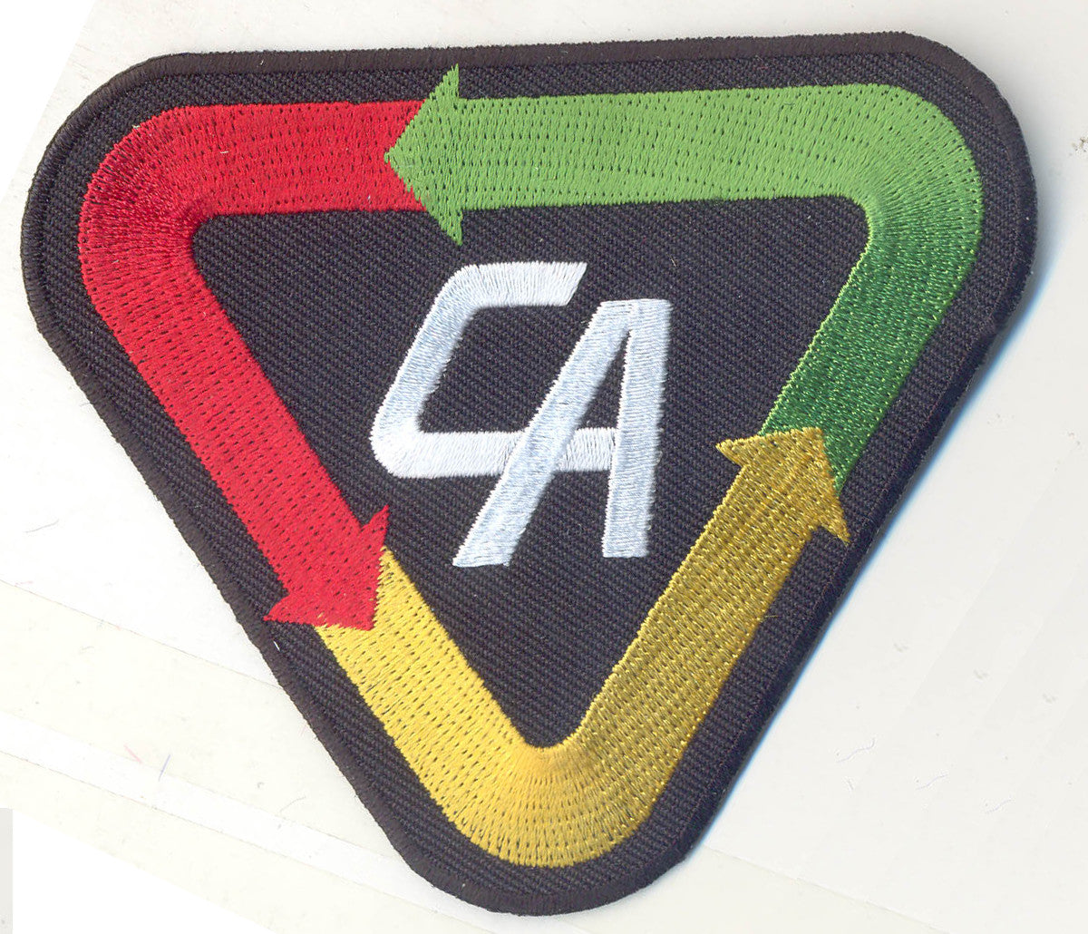 A390 Captain Action custom licensed patch full sized multi-colored plastic backed!