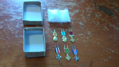 A043 3rd SON Books Custom Set of 6 Medals with decals!