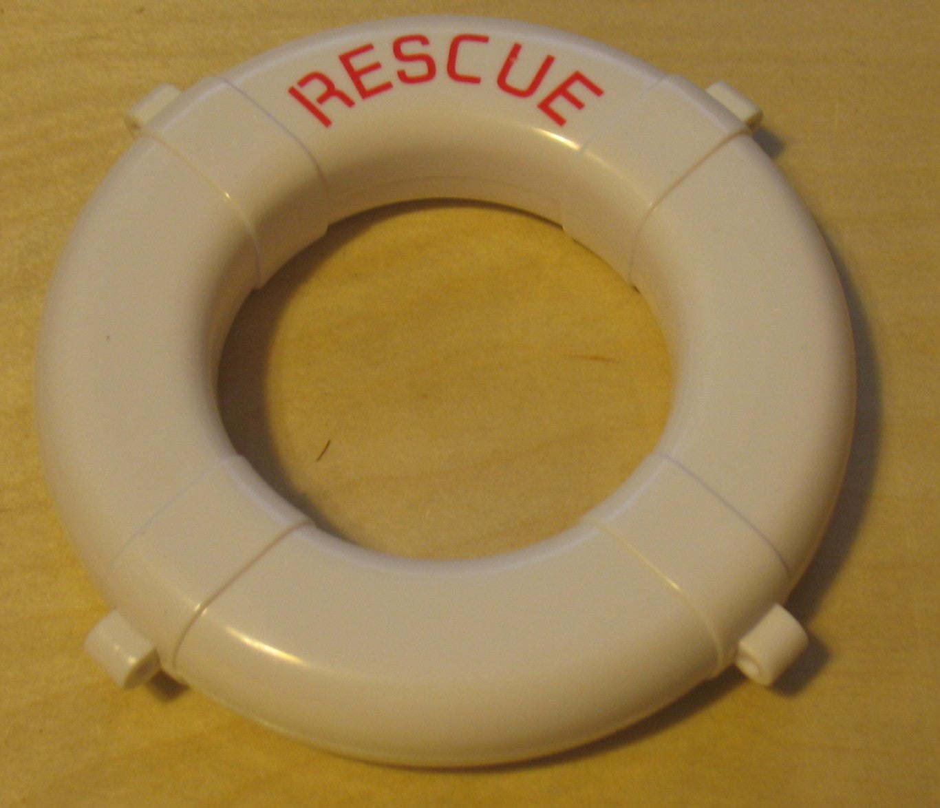 A062 Hasbro GI JOE reissued white marked Life Preserver, brand new unused!