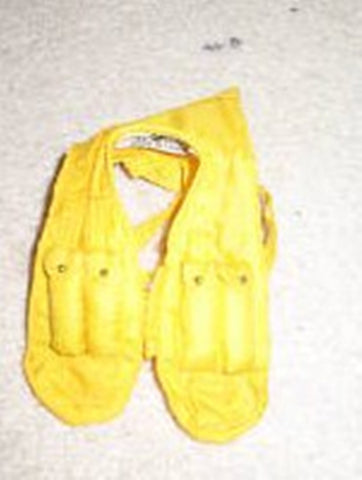 C023 GI JOE Hasbro Reissued Pilot Yellow Material Life Vest, brand new unused.