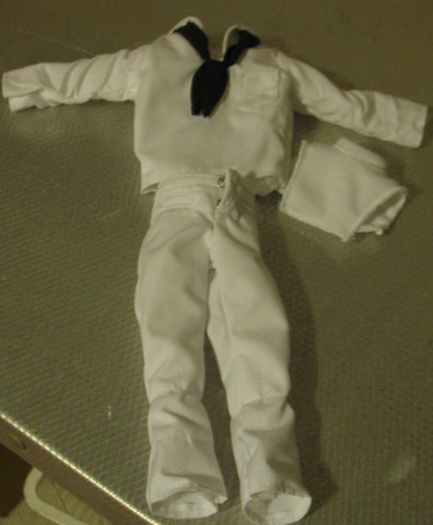 C042 Hasbro Contemporary Issued White Navy Dress Unform & Mock white shirt brand new unused!