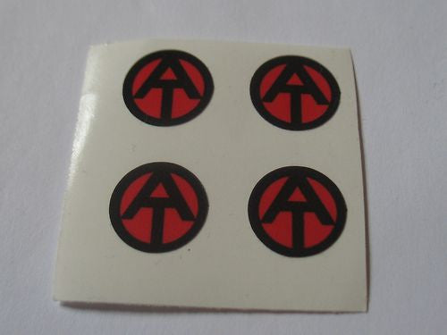 E005 3rd SON Books GI JOE Adventure Team Solid small AT Clothing Stickers (Set of 4 )