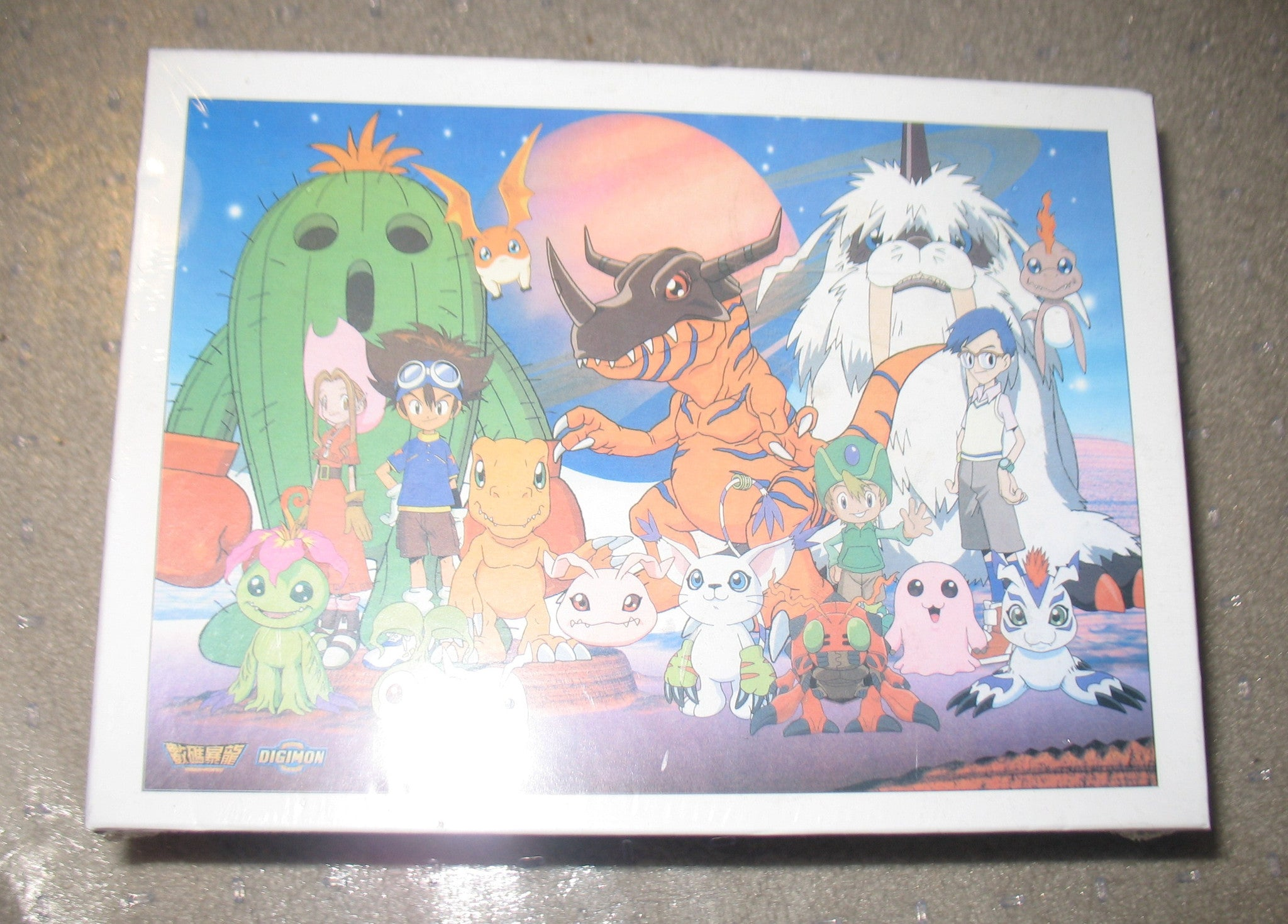 G036 Digimon Digital Monsters Anime Puzzle Brand New Sealed 300 pcs.