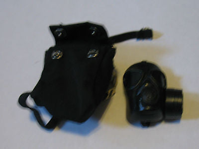 A206 GI JOE Hasbro Contemporary Gas Mask WWII Style New!