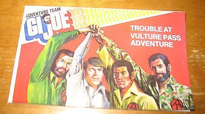 P046 3SB Reproduction Trouble at Vulture Pass Comic & Instruction Sheet