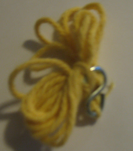 A065 3SB Repro Secret of the Mummy's Tomb Hook & Yellow Rope.