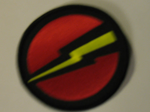 A067 3SB Life Sized 3 inch GI Joe Super Joe Emblem Patch New.