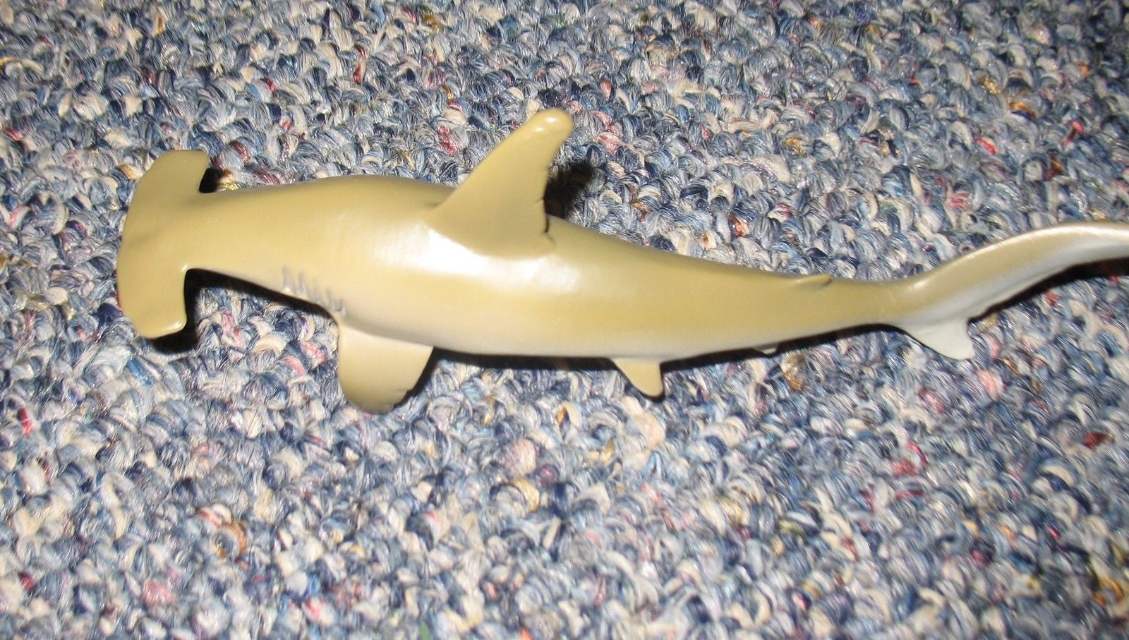 A276 3BS 6 inch long hammer head shark for use with GI JOE new