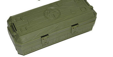 A270 GI Joe Hasbro Collector's Club Exclusive Green Crate Bagged New.