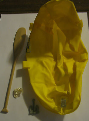 A033 GI Joe HASBRO Reissued Yellow Raft & Accessories New.