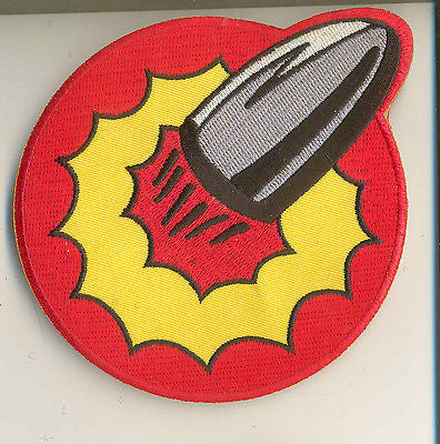 A207 3SB Life Sized GI Joe Bullet Man Emblem Patch  Brand New.