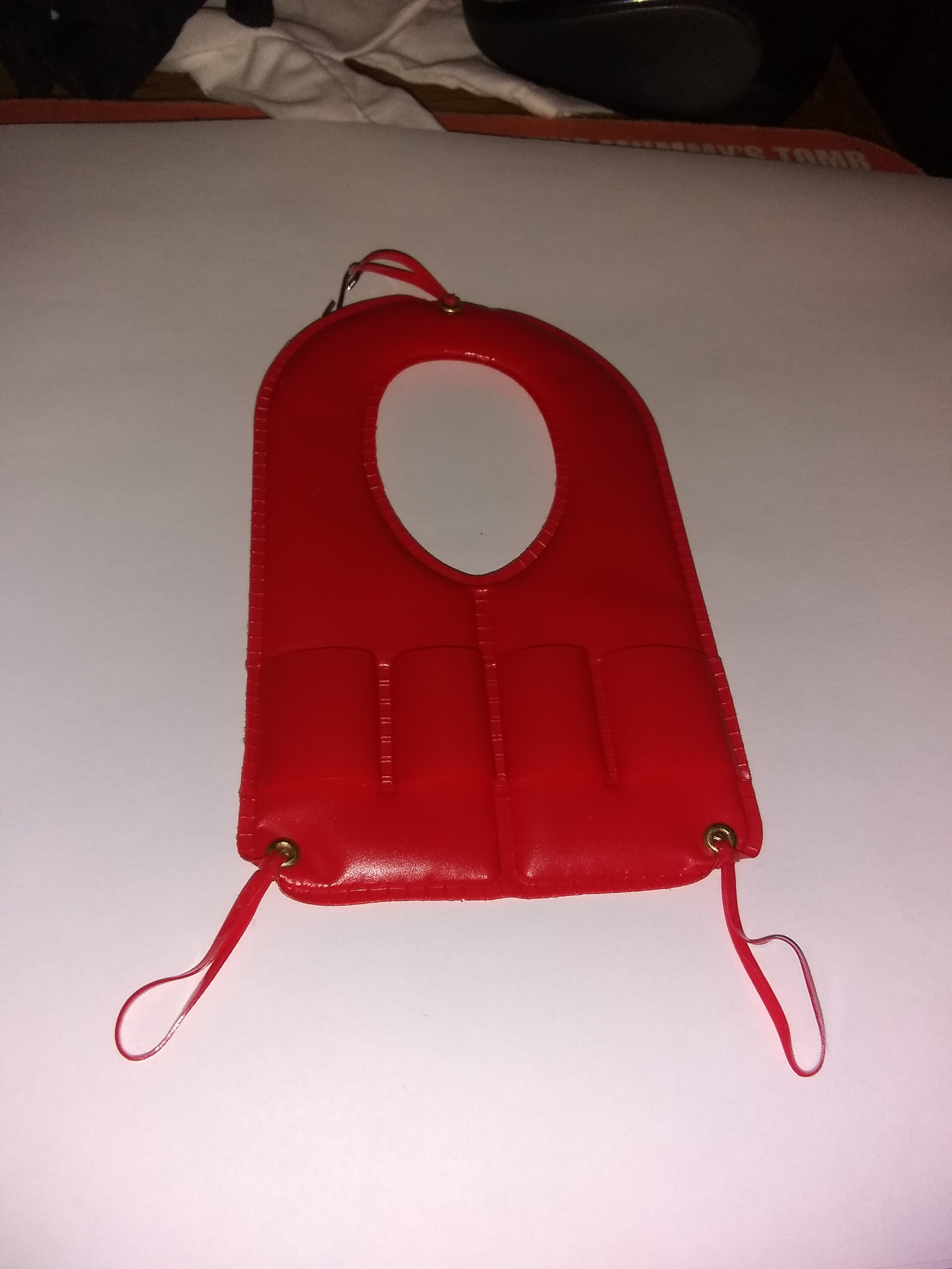 C140 3rd SON Book Alternate color red life vest new production
