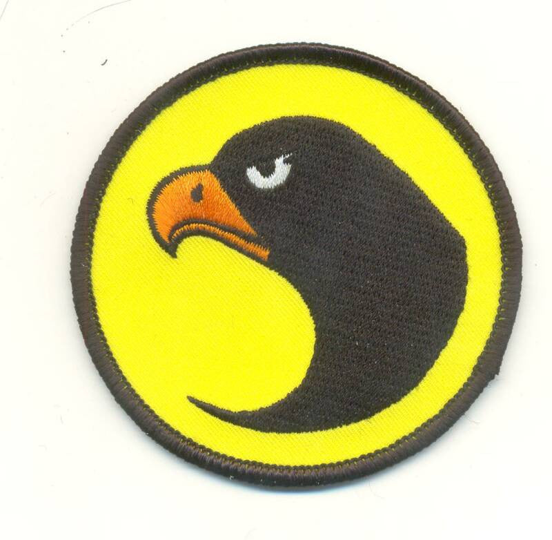 A103 3SB GI JOE Custom 3 inch Black Hawk Patch New
