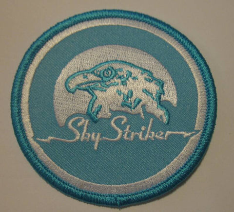 A100 3SB GI JOE Life Sized Sky Striker Patch.