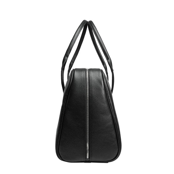 Arsante® Weekend Mini Leather Bag Rich Black