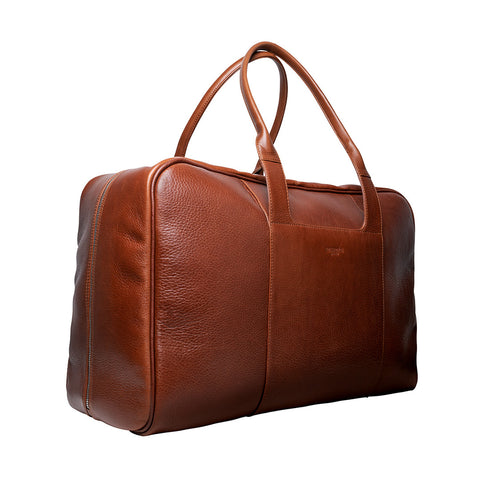 Arsante® Weekend Leather Bag Whisky Brown