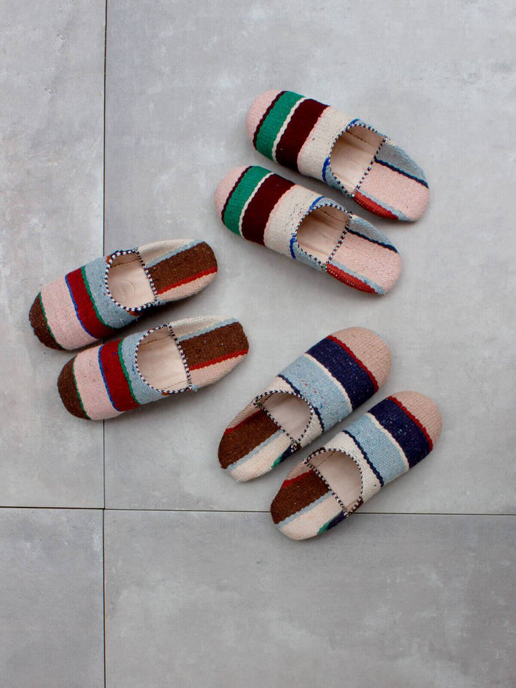 Moroccan Boujad Babouche Slippers