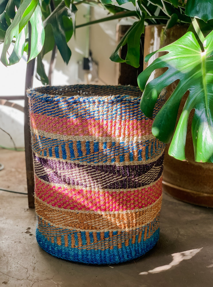 Handmade Baskets, Sisal Baskets made in Kenya