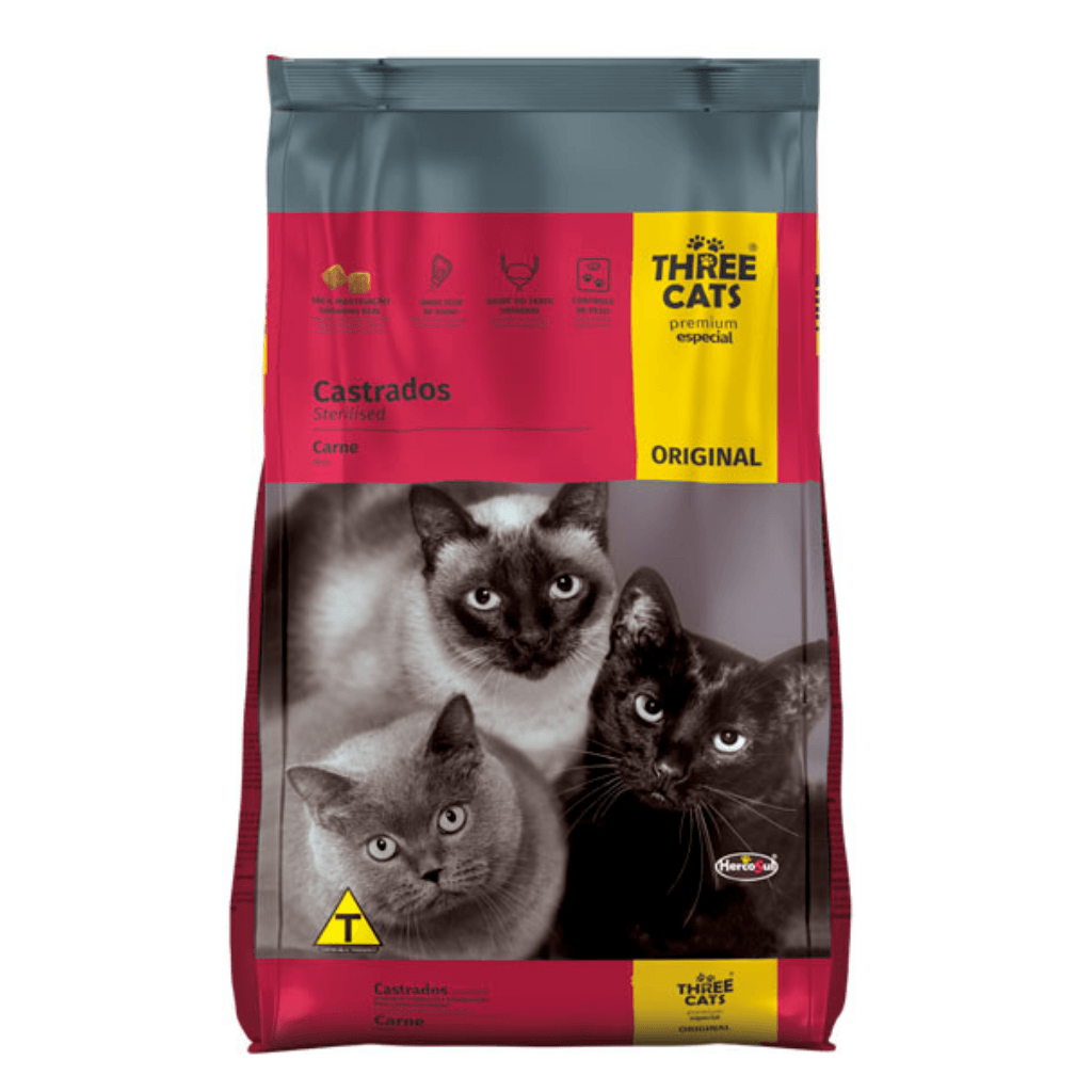 Three Cats Original Gato Castrado freeshipping - Milo Pet Shop