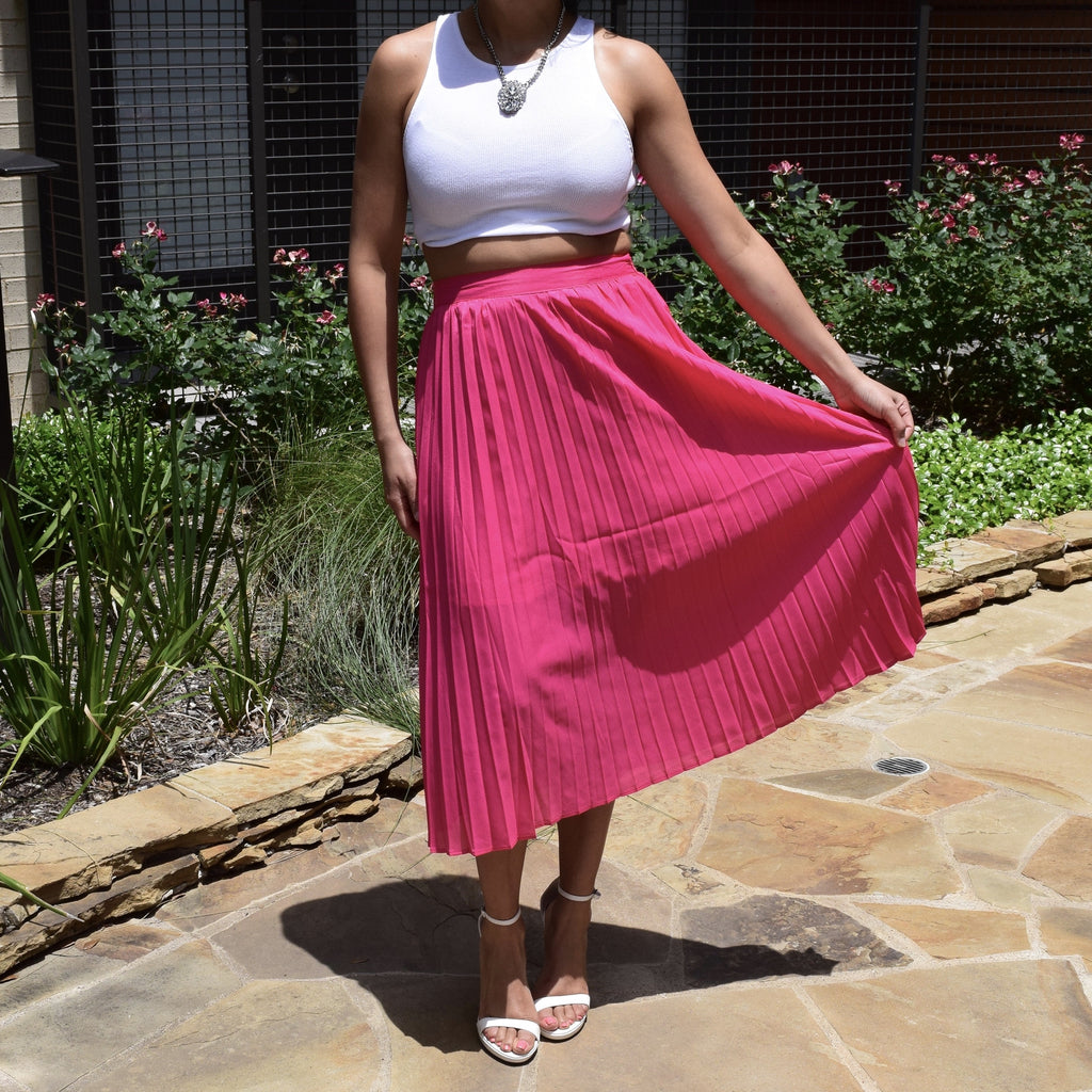4b50c408d7 Pleated Midi Skirt; Pleated Midi Skirt ...