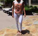 Stripe Summer Top