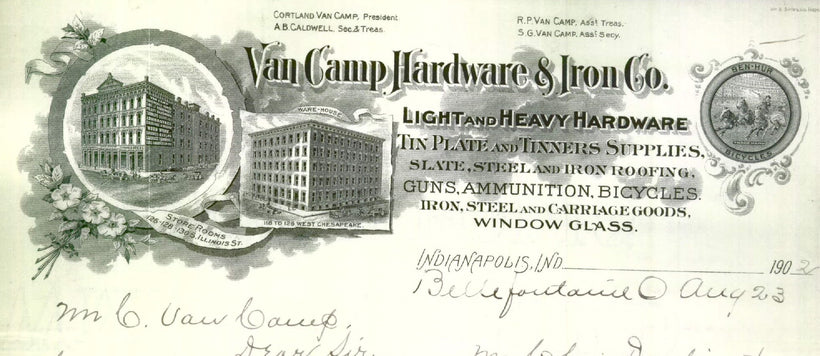 Van Camp Collection 1897-1912