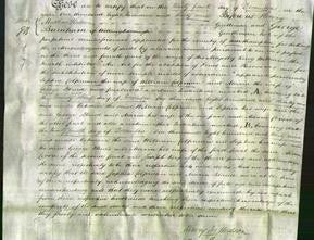 Deed by Married Women - Sophia Colpman and Maria Bland-Original Ancestry