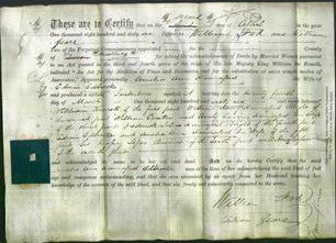 Deed by Married Women - Amelia Ann Hannaford Edbrooke-Original Ancestry