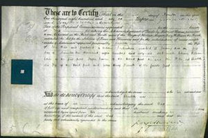 Deed by Married Women - Charlotte Webb-Original Ancestry