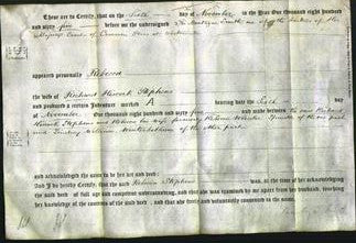 Deed by Married Women - Rebecca Wheeler Stephens-Original Ancestry