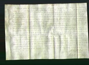 Deed by Married Women - Sarah Turner, Mary Lear and Nancy Fletcher-Original Ancestry