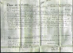 Deed by Married Women - Mary Jewkes-Original Ancestry
