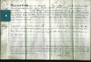 Deed by Married Women - Mary Jane Nunney-Original Ancestry