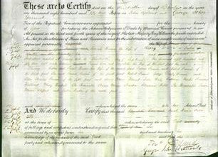 Deed by Married Women - Sarah Hance Caton-Original Ancestry