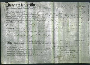 Deed by Married Women - Susannah Conner-Original Ancestry