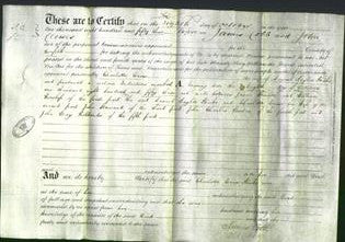 Deed by Married Women - Charlotte Crow Huke-Original Ancestry