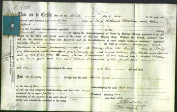 Deed by Married Women - Louisa Smallwood-Original Ancestry