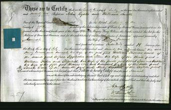 Deed by Married Women - Hannah Turner-Original Ancestry