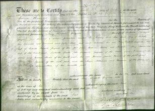 Deed by Married Women - Mary Elizabeth Gwynne-Original Ancestry
