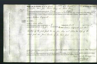 Deed by Married Women - Ann Capewell and Ellen Shaw-Original Ancestry