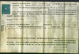 Deed by Married Women - Alice Maria Leary-Original Ancestry
