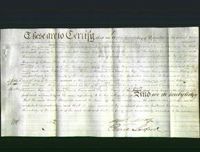 Deed by Married Women - Sarah Bonfield-Original Ancestry